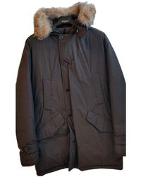 Woolrich Giacca. Giubbotto in poliestere marrone