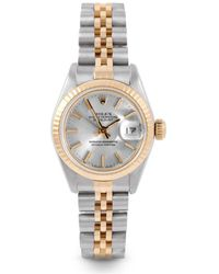 Rolex Lady Datejust 26mm Uhren - Mettallic