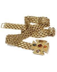 Chanel Cintura in metallo dorato - Metallizzato