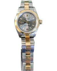 Rolex Reloj Lady Oyster Perpetual 24mm - Metálico