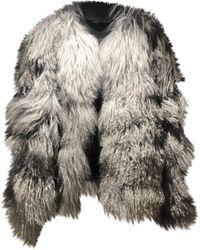 Chloé Wool Coat - Grey