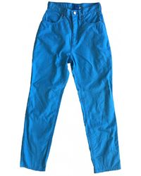 Christian Lacroix Straight Jeans - Blue
