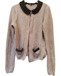 Maje Wool Cardigan - Grey