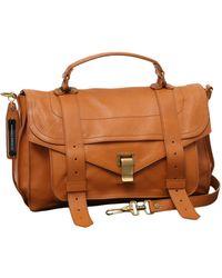 Proenza Schouler Ps1 Leather Crossbody Bag - Orange