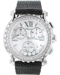 Chopard Reloj Happy Sport de Oro blanco - Metálico