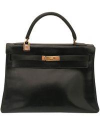 Hermès - Kelly 32 Leather Handbag - Lyst
