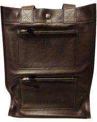Hermès Brown Leather Bag