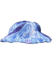 b6d95ca13a6 Lyst - Dior Arty Veil Denim Cap in Blue
