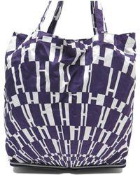 6f04a10bfc9e Lyst - Hermès Pre-owned Silky Pop Silk Handbag