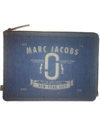 Marc Jacobs Bolsa clutch en denim - vaquero azul