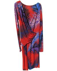Emilio Pucci - Pre-owned Mid-length Dress - Lyst