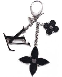 Louis Vuitton - Pre-owned Black Metal Bag Charms - Lyst