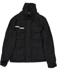 Moncler - Black Cotton Jacket - Lyst