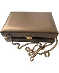 Chanel Leather Handbag - Metallic
