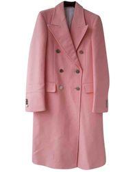 CALVIN KLEIN 205W39NYC Pink Cotton Coats