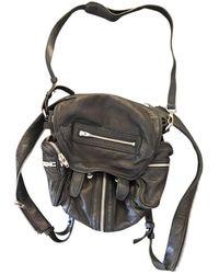 Alexander Wang Marti Black Leather Backpack