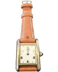 Cartier Reloj en chapado en oro dorado Tank Must - Metálico