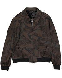 Tom Ford - \n Brown Viscose Jacket - Lyst