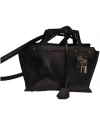 Golden Goose Deluxe Brand - Pre-owned Black Leather Handbags - Lyst