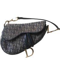 Dior Saddle Handtaschen - Blau