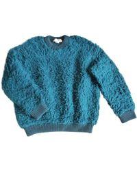 Stella McCartney - Blue Synthetic Knitwear - Lyst