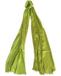 Dior Seide Stola - Grün
