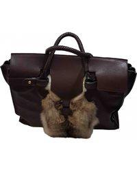 Loewe - Leather Travel Bag - Lyst
