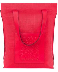 Loewe Bolsos en cuero rojo - Multicolor