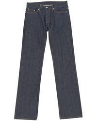 BLK DNM Gerade Jeans - Blau