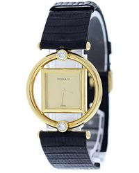 Tiffany & Co. Other Yellow Gold Watches - Blue