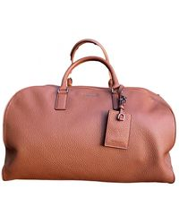 Michael Kors Leather Travel Bag - Brown