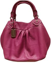 Marc By Marc Jacobs Fur Handbag - Purple