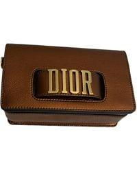 Dior Dio(r)evolution Leather Handbag - Metallic