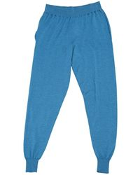 Stella McCartney Blue Wool