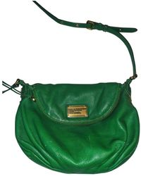 Marc By Marc Jacobs Leather Crossbody Bag - Green