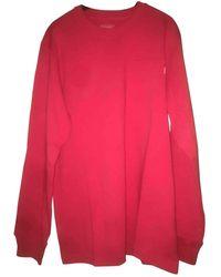 Supreme Red Cotton Knitwear & Sweatshirt