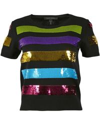Marc Jacobs Black Viscose Knitwear
