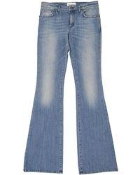 Emilio Pucci - Pre-owned Blue Cotton Jeans - Lyst