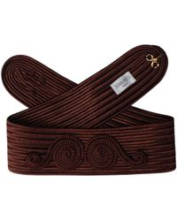 Nina Ricci - Vintage Brown Other Belts - Lyst