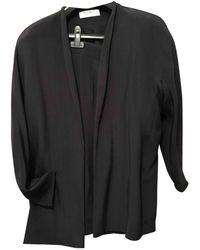 Max Mara Black Silk Dress