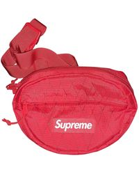 Supreme Red Synthetic Bag