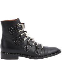 Givenchy Boots en Cuir Noir