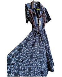 Sandro Spring Summer 2019 Maxi Dress - Blue