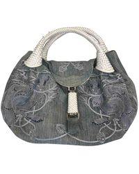 Fendi Spy Blue Denim - Jeans Handbag
