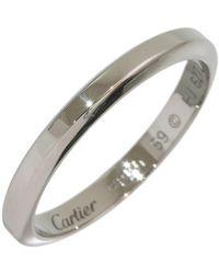 Cartier Joyas en platino plateado - Multicolor