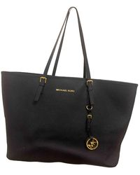 Michael Kors Borsa Jet Set in Pelle - Blu