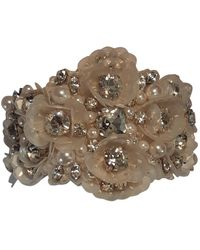Jenny Packham White Metal Bracelet