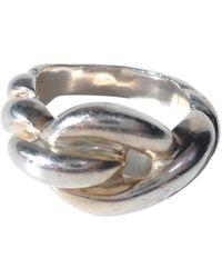 Hermès - Silver Silver Ring - Lyst