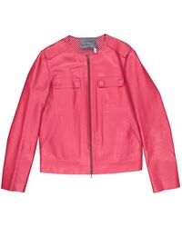 Lanvin Leather Jacket - Pink