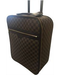 Louis Vuitton - Pegase Brown Cloth - Lyst